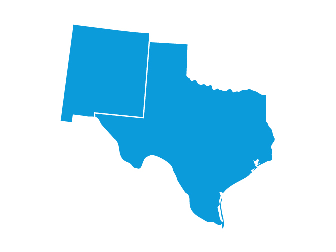 Increase food and beverage sales in Texas & New Mexico